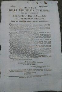 1798-REPUBBLICA-CISALPINA-BANDO-SOPPRESSIONE-RELIGIOSA-BERGAMO-LAGO-DI-GARDA
