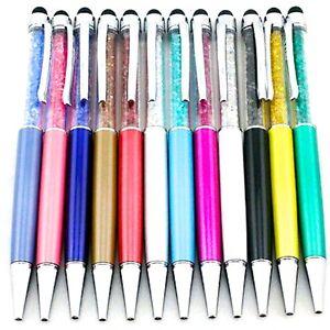 Boligrafo-Con-Piedras-De-Swarovski-Valido-Para-Tablets-Varios-colores