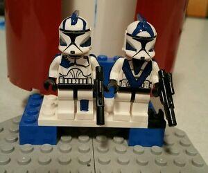 Lego Star Wars Echo & Fives 501st ARC Troopers Custom Clone Wars Characters