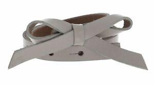 Vanzetti 15mm Belt W80 Gürtel Accessoire Cream Beige Neu