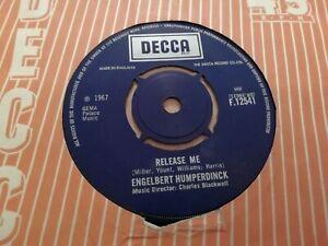 ENGELBERT-HUMPERDINCK-RELEASE-ME-7-034-SINGLE-EXCELLENT-1967-DECCA