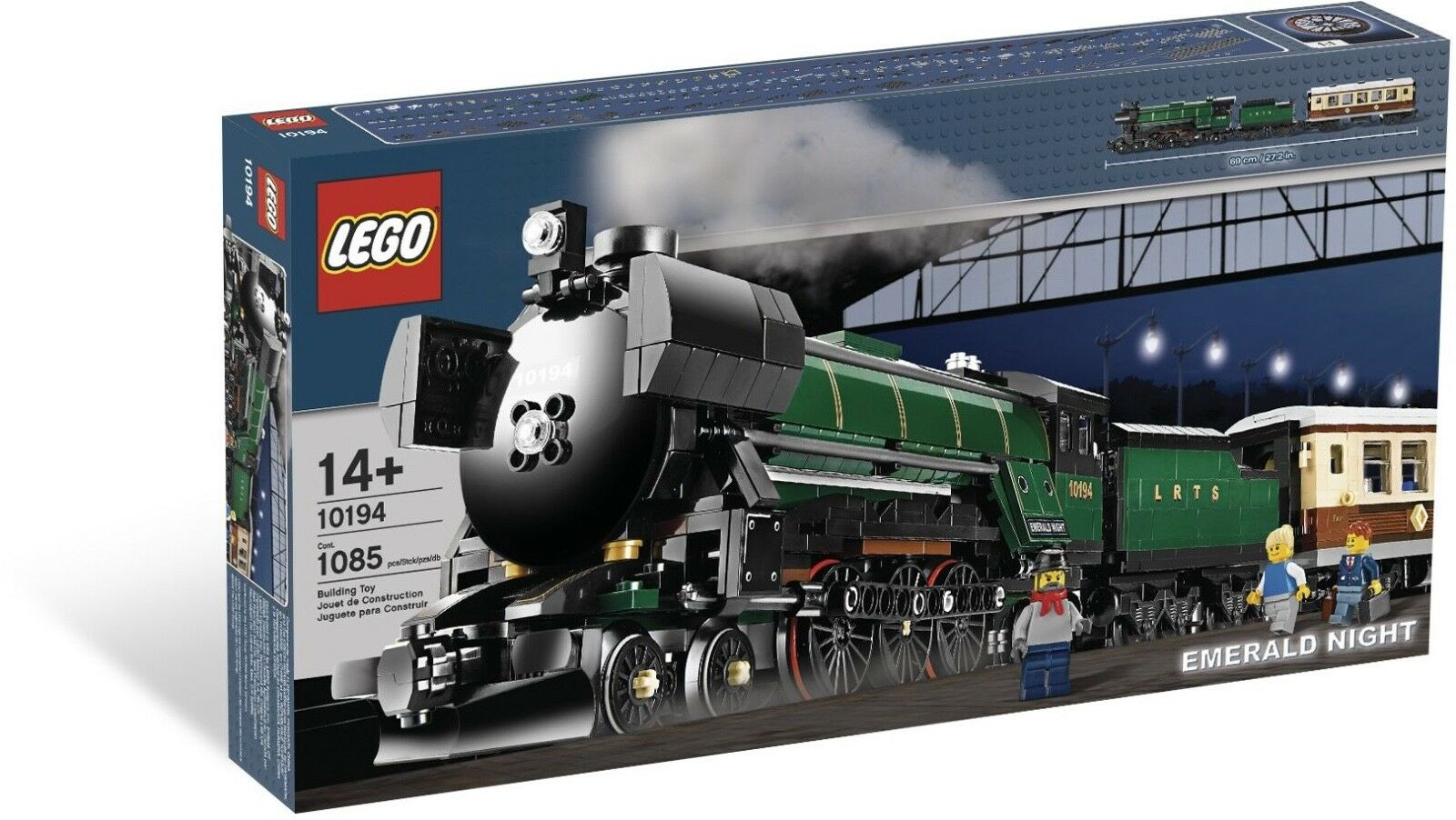 BRAND NEW LEGO Creator Emerald Night TRAIN TRAIN TRAIN 10194 2603f5