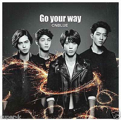 CNBLUE Japan 8th Single [Go your way] (CD only) Regular Edition