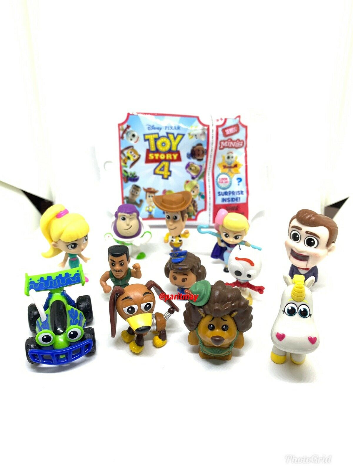 Complete Set    Series 2 Toy Story 4 Mini Mystery Blind Tasche (All 12 Figures)