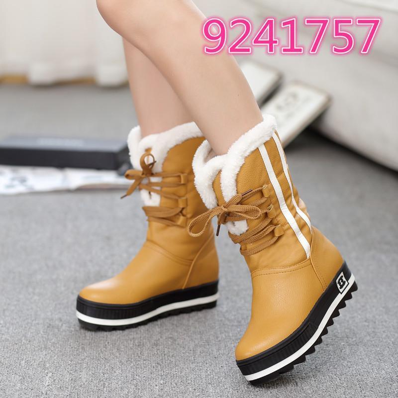 Damen Schuhe Stiefel Ankle Stiefel warme Gr34-43 Winter Snow Stiefel Schneeschuhe Gr34-43 warme e8cfc9