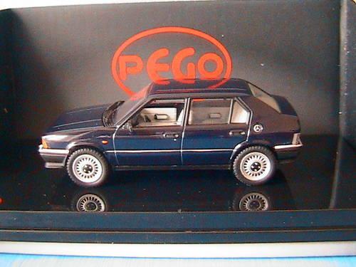 ALFA ROMEO 33 SERIE 1 1983 QUADRIFOGLIO V STRADALE blue PEGO PG1041BL 1 43