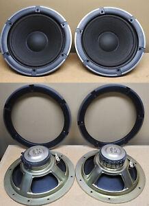 TECHNICS-A30-SB-A30-Vintage-Speaker-8-034-Woofer-Assembly-Tested-amp-Working-set-of-2