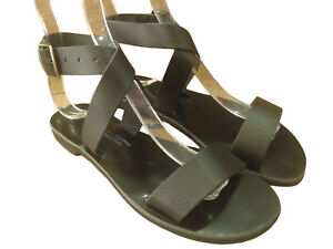 e802bd36929 Details about Ancient Greek Womens Sandals Gladiator Roman Handmade Genuine Leather  Shoes
