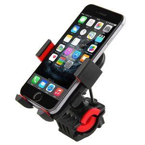 360° Universal Bicycle Bike Handlebar Mount Cradle Holder For Cell Phone GPS