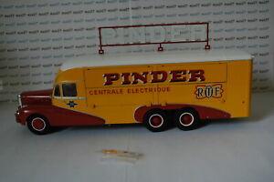 Electrique PinderCamion Sur Direkt 28 143 Centrale 1951 Ixo Détails Eme Bernard Cirque 8O0XwknP