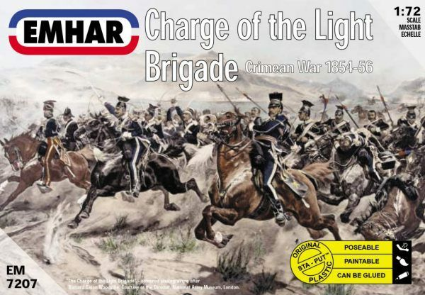 Emhar 1 72 Charge of the Light Brigade Crimean War # 7207