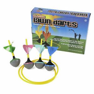 Classic-Lawn-Darts-Outdoor-Throwing-Play-Set-Family-Children-Fun-Garden-Game
