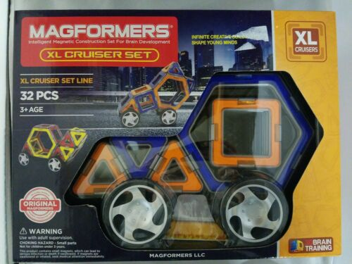 Magformers XL Cruisers Magnetic Building Blocks Set 32 Pieces