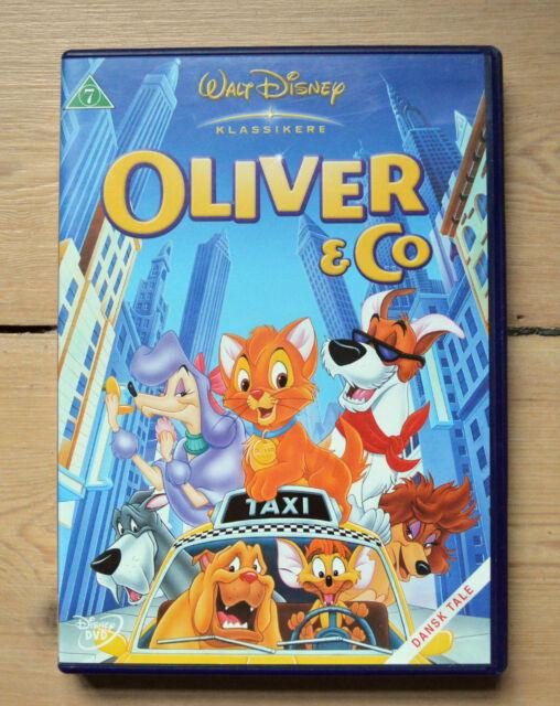 Walt Disney Dvd Oliver Co Region 2 Pal Dansk Norsk Norwegian