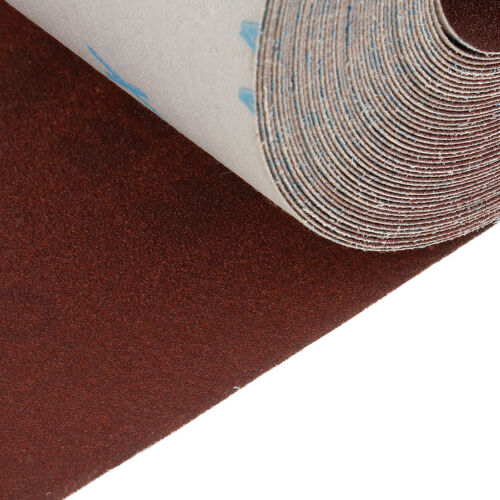 10m Emery Cloth Roll 180 Grit Sandpaper for Cleaning Copper Pipe and Fitting