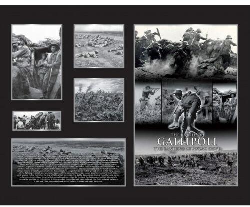 New Gallipoli Limited Edition Memorabilia Framed