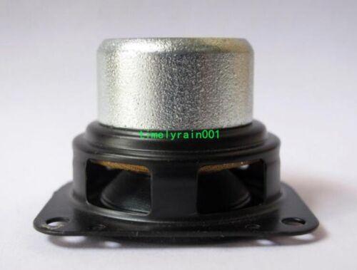 """2pcs 1.5/"""" inch 4Ohm 4Ω 10W Neodymium Full range speaker Loudspeaker Long stroke"""