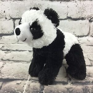 "Wild Republic Panda Bear Plush 5"" Black White Stuffed Animal Soft Nature Toy"