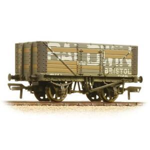 Bachmann-37-114-OO-Gauge-7-Plank-Wagon-Fixed-End-Baldwin