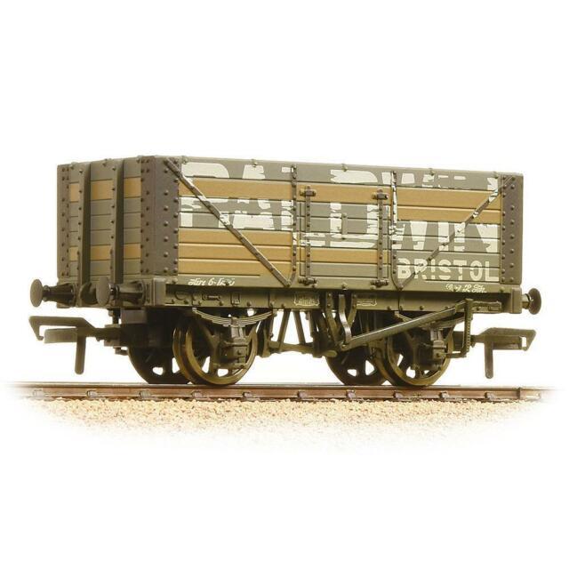 Bachmann 37-114 OO Gauge 7 Plank Wagon Fixed End Baldwin