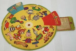1954 Howdy Doody's Comic Circus Animals Poll-Parrot Shoes