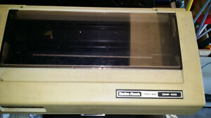Vintage-Tandy-DMP-420-Dot-Matrix-Printer-Radio-Shack-TRS-80-Great-for-collector