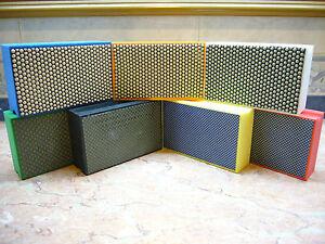 7-Tlg-Diamant-Handschleifpads-Schleifpad-Handpad-Handschleifer-Handschleifklotz