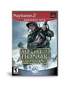 Medal Of Honor Frontline For PlayStation 2 PS2 Very Good 7E