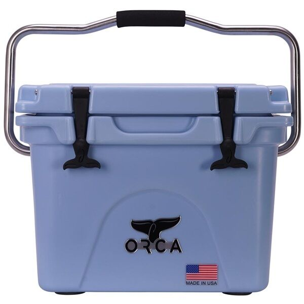 ORCA Heavy Duty 20 Quart Cooler Made In USA LIGHT blueE