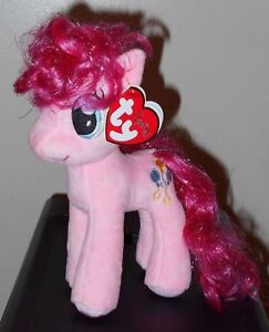 d4040dc7fa0 Ty Beanie Baby ~ PINKIE PIE (Sparkle Hair Strands)(My Little Pony ...