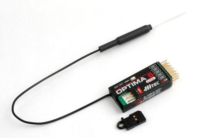 Hitec RCD - Optima 6 Lite - 6 Channel 2.4ghz  Receiver  acquisto limitato