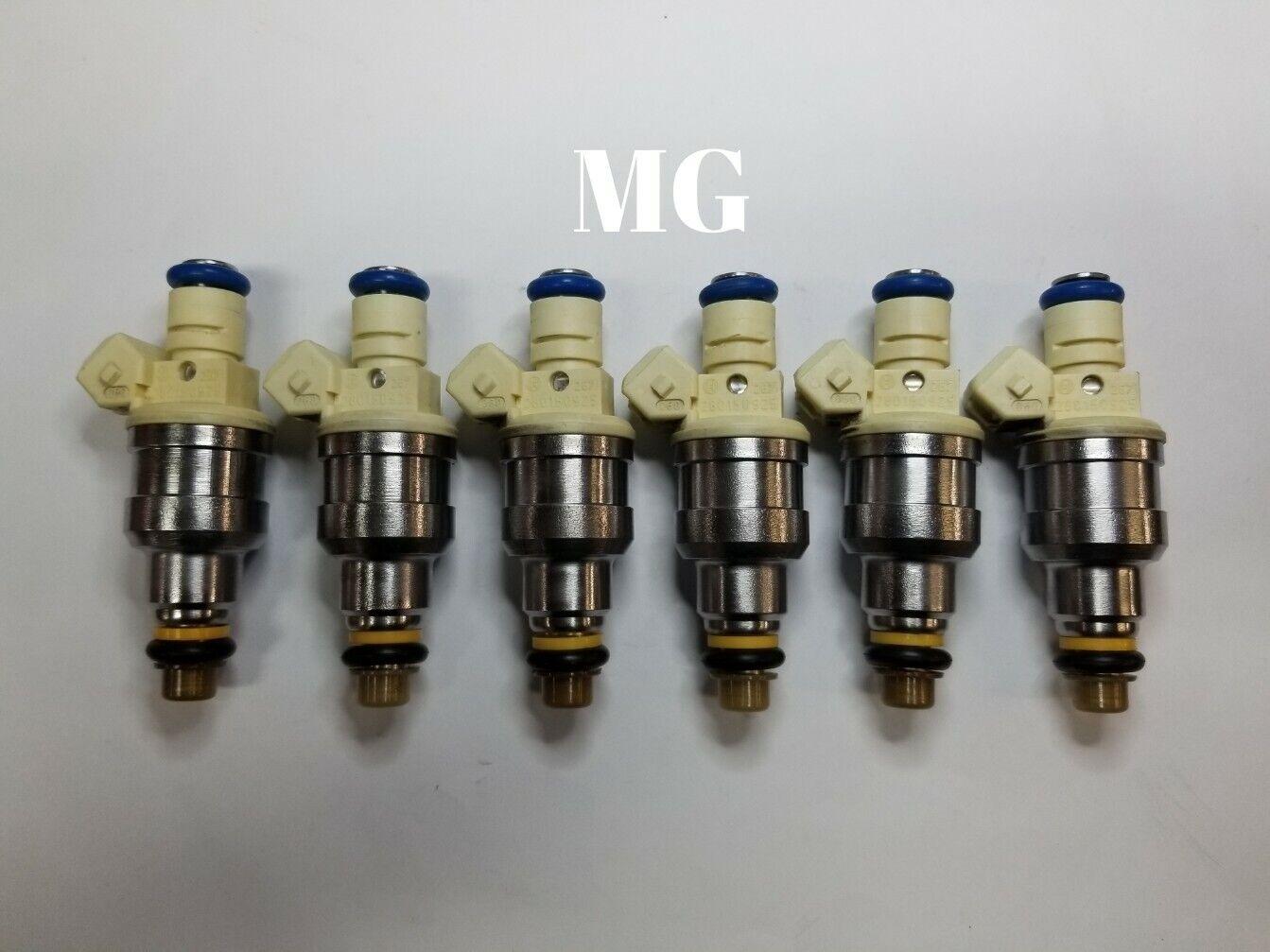 6* EV1 Fuel Injectors Fits 1992-1993 Dodge Dakota 3.9L-V6 20lbs UPGRADE FJ341