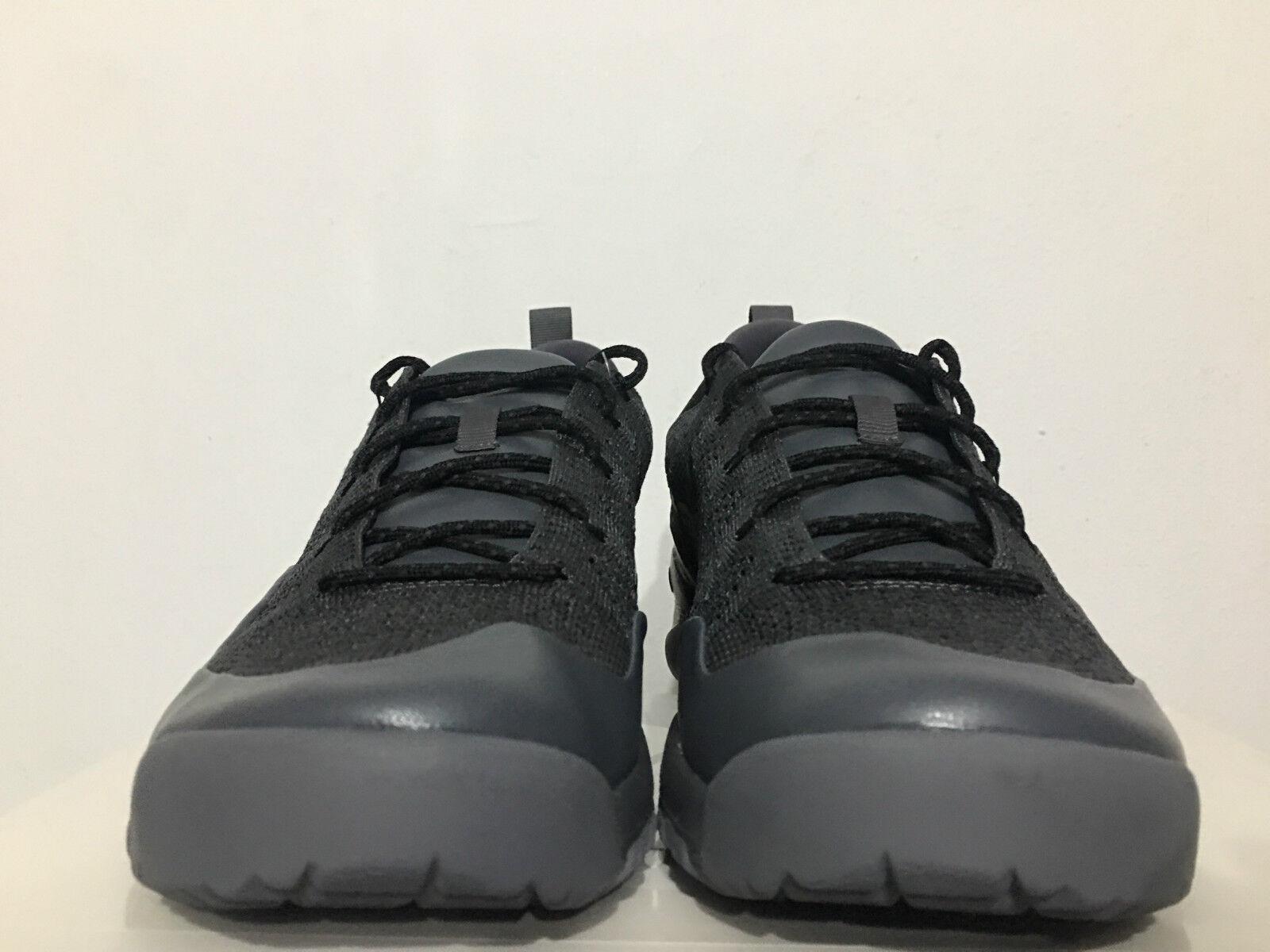 Nike lupinek flyknit niedrigen proben proben proben dunkle cool grau - schwarze segel sz 10 934108