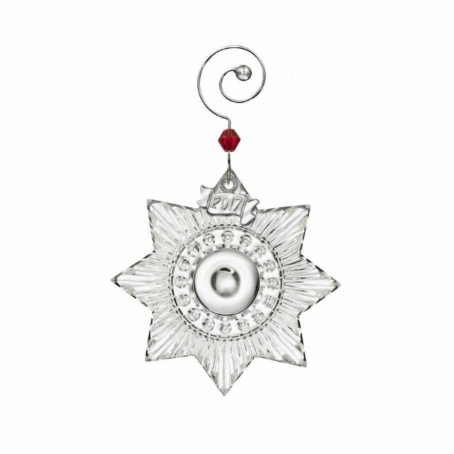 Waterford Crystal Christmas Ornaments.Waterford Crystal 2017 Mini Star Christmas Ornament 40023147