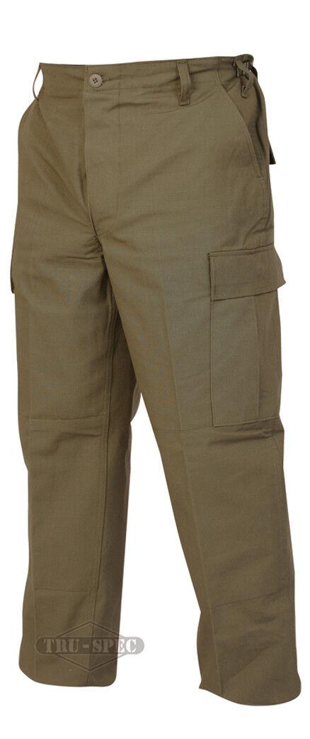 Tru-Spec Olive BDU Pants 100% Cotton RS