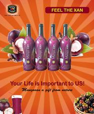 Organic Mangoxan Mangosteen Juice (8-750ml bottles) Free Shipping