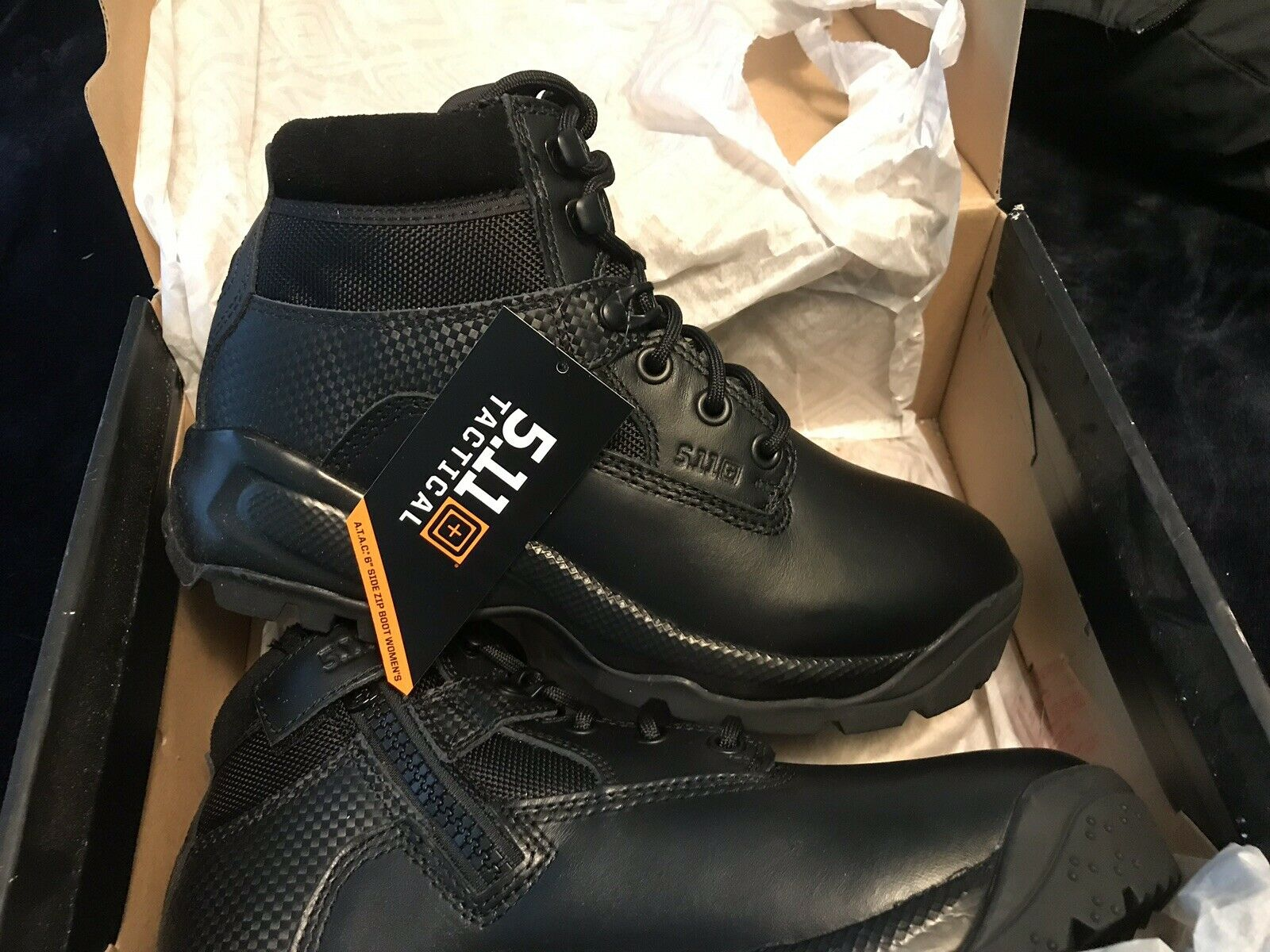 5.11 Tactical Womens ATAC 6  Boots EMS EMTLaw Enforcement, Military, Work,Size 9