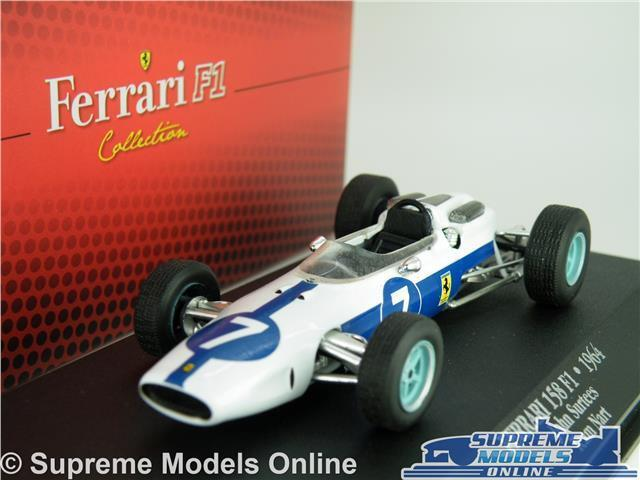 FERRARI 158 F1 CAR MODEL 1 43 SIZE IXO ATLAS FORMULA ONE JOHN SURTEES 7174008 T3