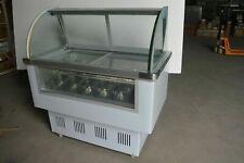 Intsupermai Ice Cream Showcase 472 Glass Freezer Showcase Commercial 220v Sale