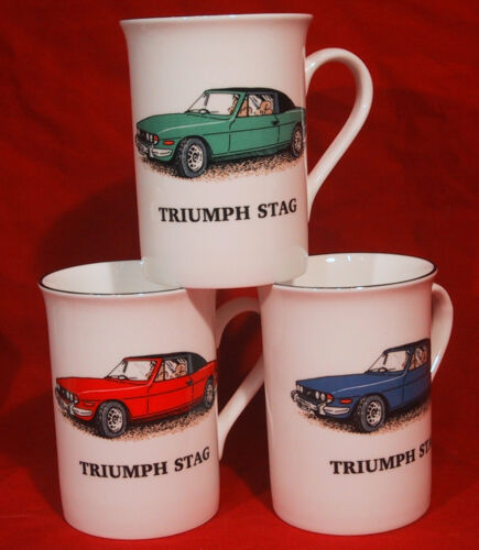 Triumph Stag car Fine Bone China Mug Cup Beaker