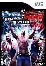 Nintendo Wii WWE Smackdown vs Raw 2011 VideoGames