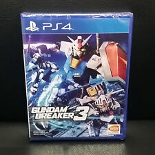 Gundam Breaker 3 PS4 Game (English) Exclusive Physical Version BRAND NEW