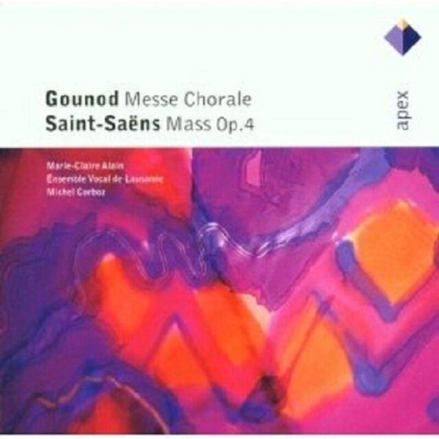 CORBOZ/ENSEMBLE VOCAL DE LAUSANNE-MESSE CHORAL...CD NEU