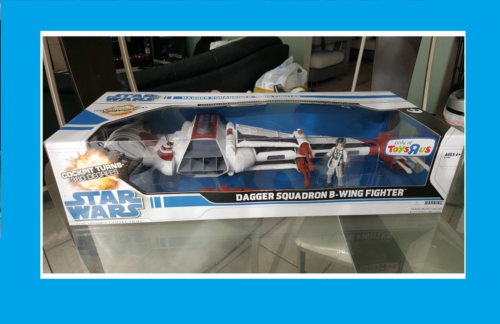 NEW Star Wars The Legacy Collection Dagger Squadron B-Wing Fighter Toys R Us Ex