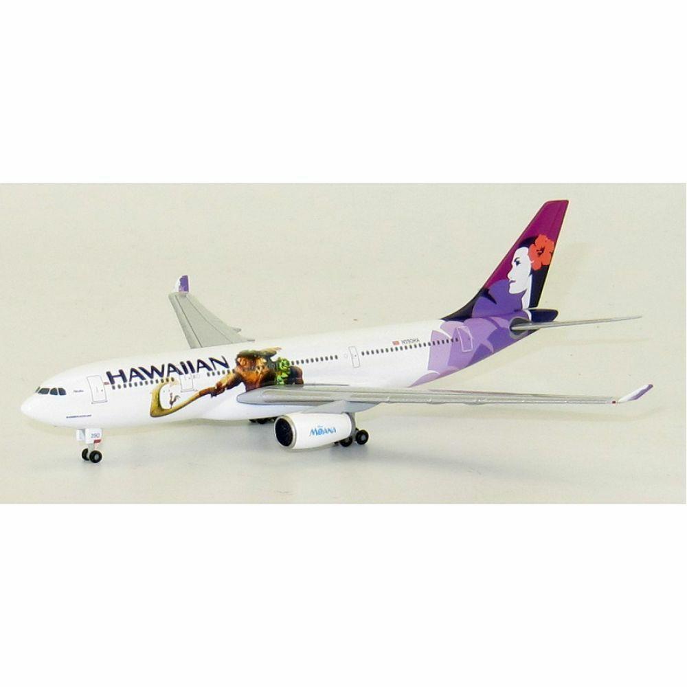 JC WINGS 5119 1 500 HAWAIIAN AIR AIRBUS A330-200 REG  N390HA MOANA LIVER
