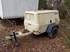 250cfm Ingersoll Rand Air Compressor Trailer Only 1500 Hours Larger Then185cfm