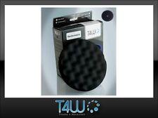 T4W Polishing velcro pad honeycombed sponge waffle 150×25 mm / black (soft)