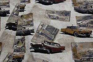 Clearwater Outfitter VTG Classic Cars Pocket Artwork CAMP