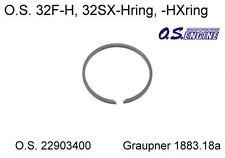 O.S. 22903400 Piston Ring 32F-H Graupner 1883.18a