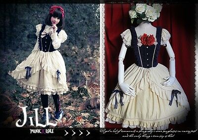lolita fairy spank Princess diary disney Snow white EX evening dolly dress
